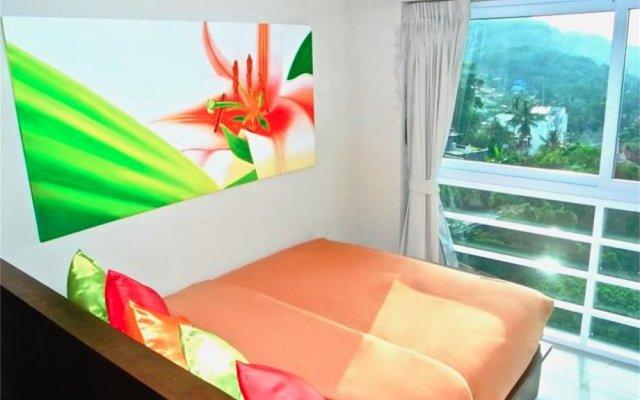 Апартаменты Kata Ocean View Sea View Apartment пляж Ката комната для гостей