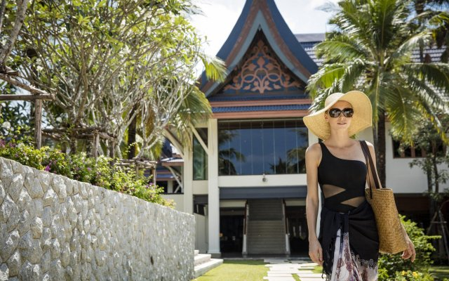 Отель Angsana Villas Resort Phuket вид на фасад