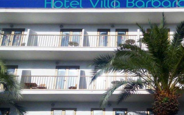 Отель Villa Bárbara вид на фасад