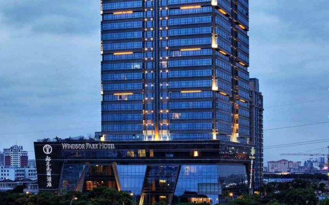 Windsor Park Hotel Kunshan вид на фасад