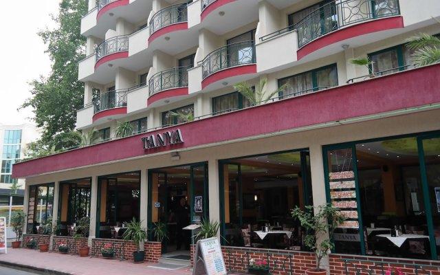 Отель Tanya Hotel Болгария, Солнечный берег - отзывы, цены и фото номеров - забронировать отель Tanya Hotel онлайн вид на фасад