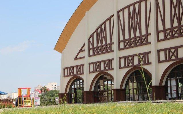 Лавина Отель вид на фасад