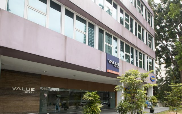Value Hotel Balestier вид на фасад