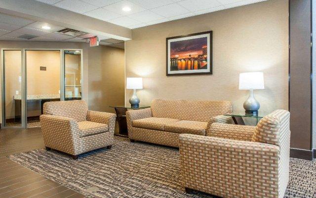 Отель Comfort Suites Columbus США, Колумбус - отзывы, цены и фото номеров - забронировать отель Comfort Suites Columbus онлайн комната для гостей