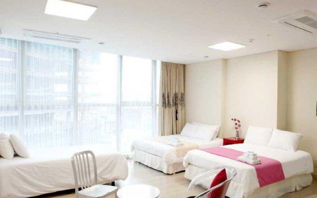 Отель The River Serviced Residence Seoul Южная Корея, Сеул - отзывы, цены и фото номеров - забронировать отель The River Serviced Residence Seoul онлайн комната для гостей