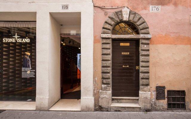 Отель Babuino Palace Suites вид на фасад