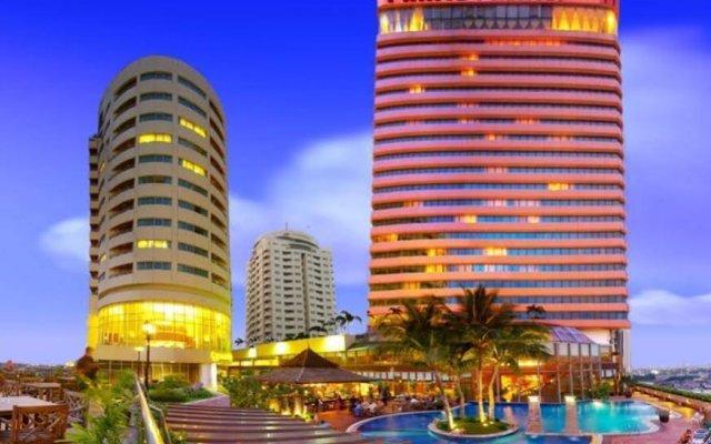 Отель Prince Palace Бангкок вид на фасад