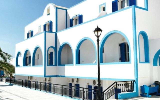 Отель Villa Valvis Греция, Остров Санторини - отзывы, цены и фото номеров - забронировать отель Villa Valvis онлайн вид на фасад