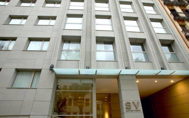 Отель Suites Viena Plaza De Espana Мадрид вид на фасад