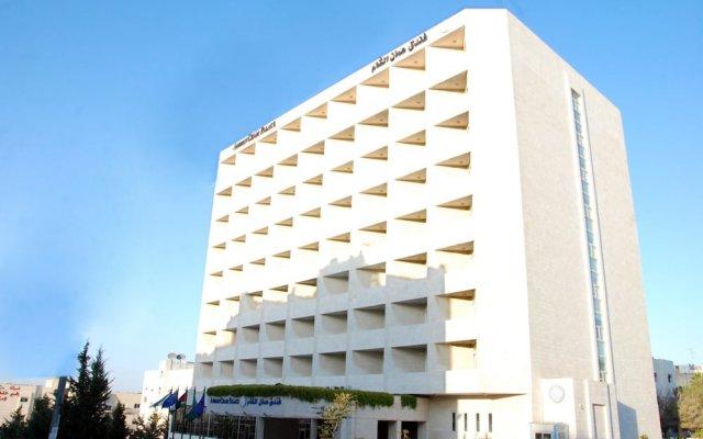 Отель Amman Cham Palace Иордания, Амман - отзывы, цены и фото номеров - забронировать отель Amman Cham Palace онлайн вид на фасад