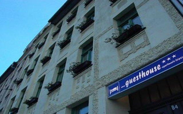 Апартаменты Guesthouse-Apartments-Leizpig вид на фасад