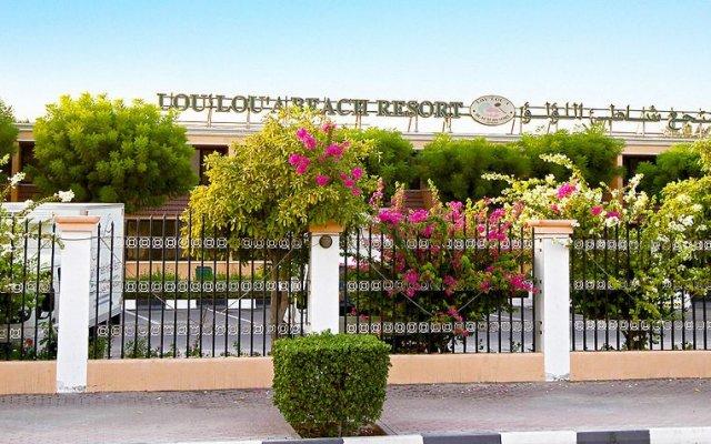 Отель Lou Lou'a Beach Resort вид на фасад