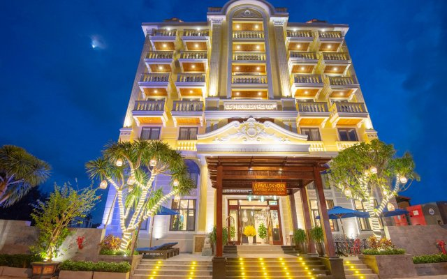 Le Pavillon Hoi An Boutique Hotel & Spa вид на фасад