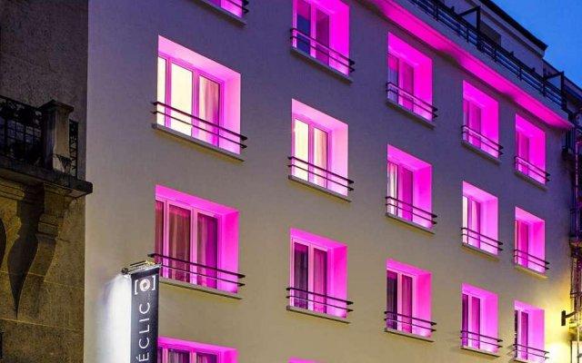 Отель Hôtel Déclic вид на фасад