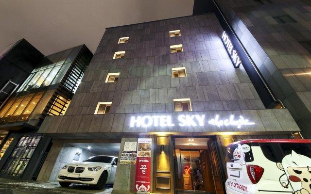 Отель Sky The Classic Южная Корея, Сеул - отзывы, цены и фото номеров - забронировать отель Sky The Classic онлайн вид на фасад
