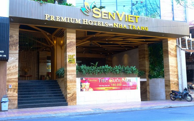 Sen Viet Premium Hotel Nha Trang вид на фасад
