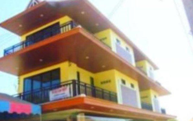 Апартаменты Oscar Apartment Ланта вид на фасад