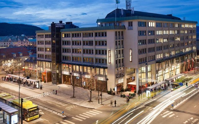 Отель Thon Hotel Prinsen Норвегия, Тронхейм - отзывы, цены и фото номеров - забронировать отель Thon Hotel Prinsen онлайн вид на фасад