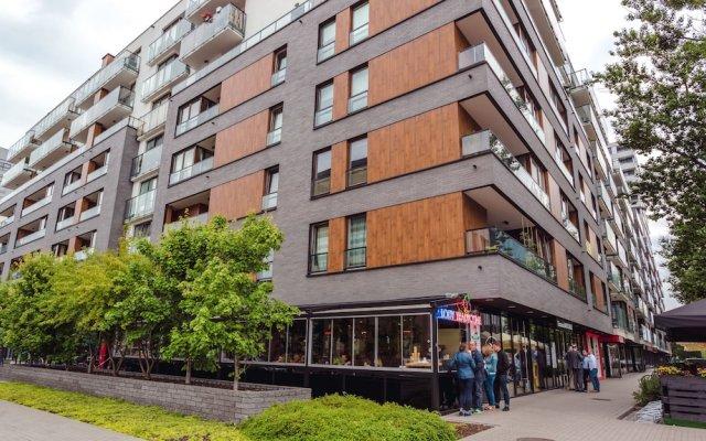 Отель Chill Apartments Karolkowa Польша, Варшава - отзывы, цены и фото номеров - забронировать отель Chill Apartments Karolkowa онлайн вид на фасад