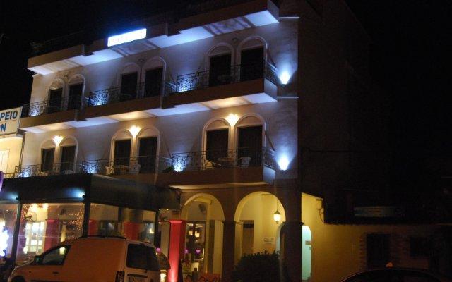 Отель Dali Luxury Rooms вид на фасад