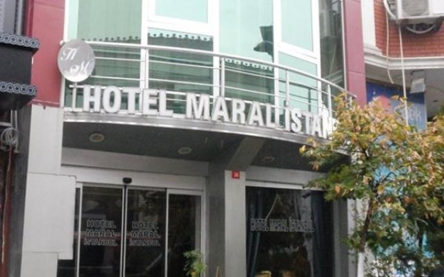 Maral Hotel Istanbul вид на фасад