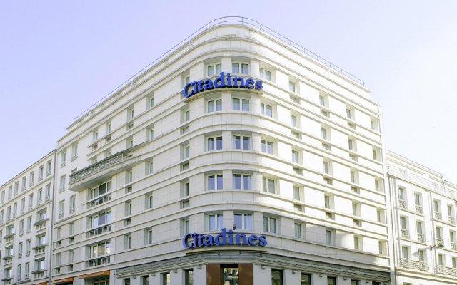 Отель Citadines Tour Eiffel Paris вид на фасад