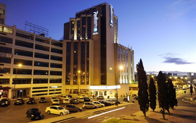 Radisson Blu Hotel вид на фасад