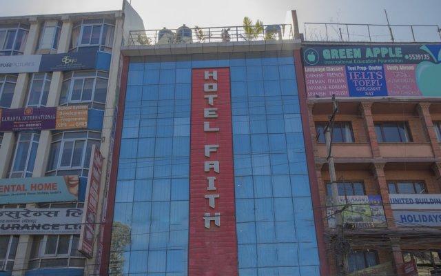 Отель OYO 262 Hotel Faith Непал, Лалитпур - отзывы, цены и фото номеров - забронировать отель OYO 262 Hotel Faith онлайн вид на фасад