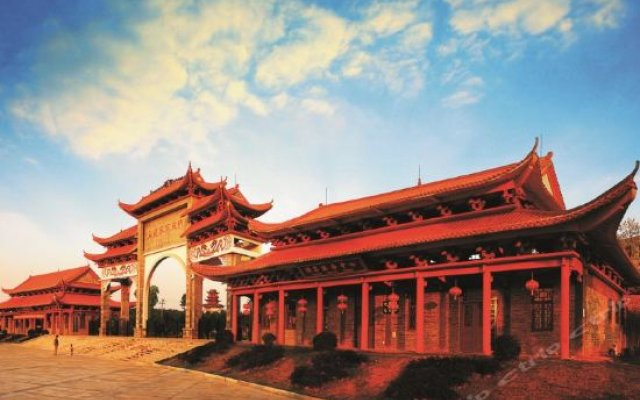 Отель Wulonghu Resort вид на фасад