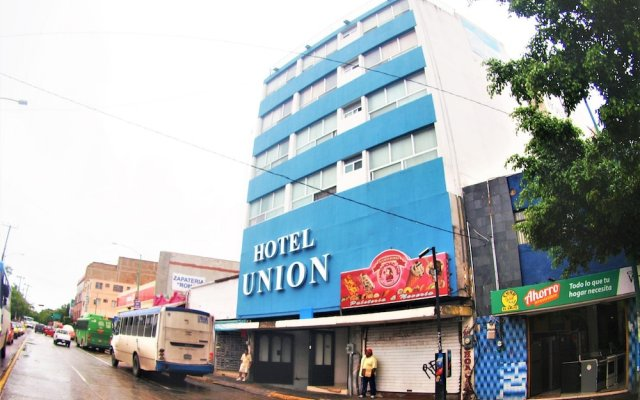 Hotel Union вид на фасад