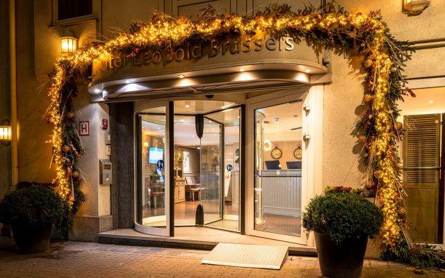 Отель Leopold Hotel Brussels EU Бельгия, Брюссель - 5 отзывов об отеле, цены и фото номеров - забронировать отель Leopold Hotel Brussels EU онлайн вид на фасад