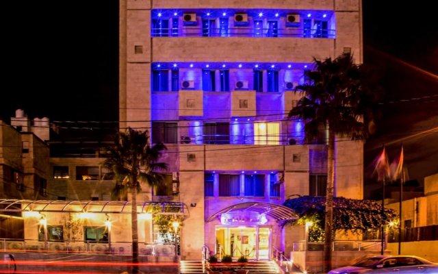 Отель AGHADEER Амман вид на фасад