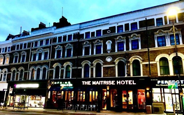 Отель Maitrise Hotel Maida Vale Великобритания, Лондон - отзывы, цены и фото номеров - забронировать отель Maitrise Hotel Maida Vale онлайн вид на фасад