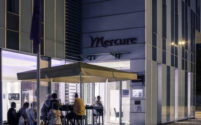 Mercure Hotel Hamburg Mitte вид на фасад