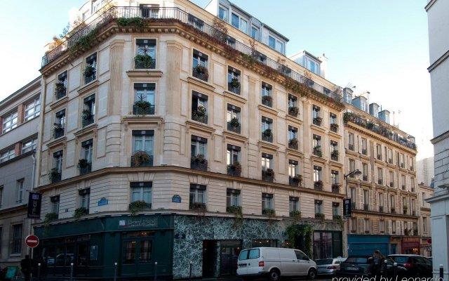 Отель Grand Hotel Saint Michel Франция, Париж - 1 отзыв об отеле, цены и фото номеров - забронировать отель Grand Hotel Saint Michel онлайн вид на фасад