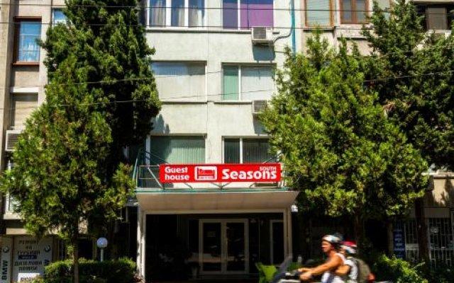 Отель Sezoni South Burgas Болгария, Бургас - отзывы, цены и фото номеров - забронировать отель Sezoni South Burgas онлайн вид на фасад