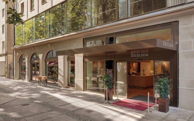 Отель Excelsior Германия, Мюнхен - 3 отзыва об отеле, цены и фото номеров - забронировать отель Excelsior онлайн вид на фасад