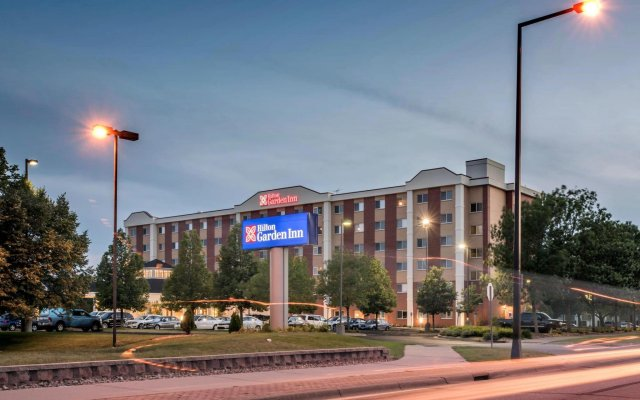 Отель Hilton Garden Inn Minneapolis Airport Mall Of America Блумингтон вид на фасад