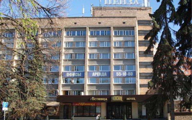 Гостиница Пенза в Пензе 1 отзыв об отеле, цены и фото номеров - забронировать гостиницу Пенза онлайн вид на фасад