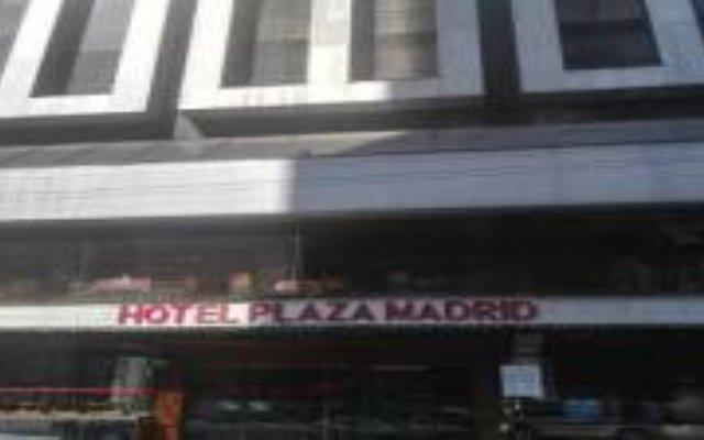 Отель Plaza Madrid Мексика, Мехико - отзывы, цены и фото номеров - забронировать отель Plaza Madrid онлайн вид на фасад