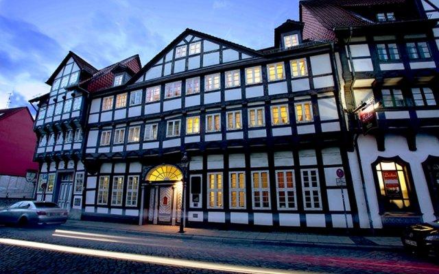 Отель Ritter St. Georg Германия, Брауншвейг - отзывы, цены и фото номеров - забронировать отель Ritter St. Georg онлайн вид на фасад