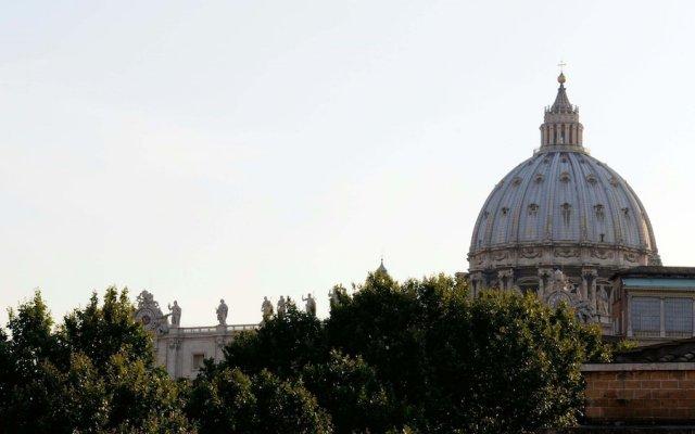 Отель Relais Vatican View вид на фасад