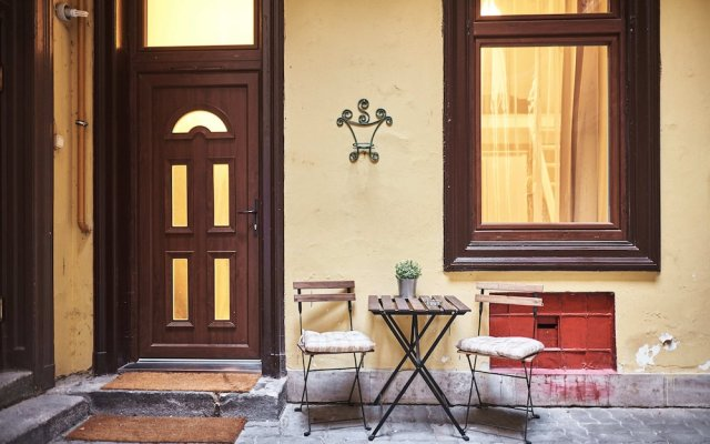 Апартаменты Lovolde 5 Apartment Будапешт вид на фасад