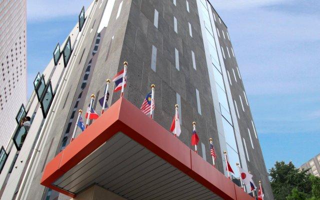 K-POP Hotel Seoul Station вид на фасад