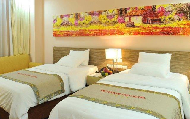 Отель VIETSOVPETRO Далат комната для гостей