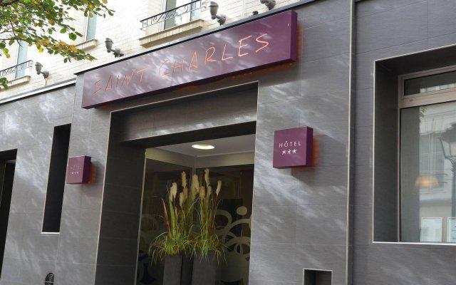 Отель Hôtel Saint-Charles Франция, Париж - отзывы, цены и фото номеров - забронировать отель Hôtel Saint-Charles онлайн вид на фасад