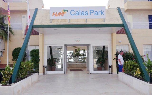 Отель Apartamentos HSM Calas Park - All Inclusive вид на фасад