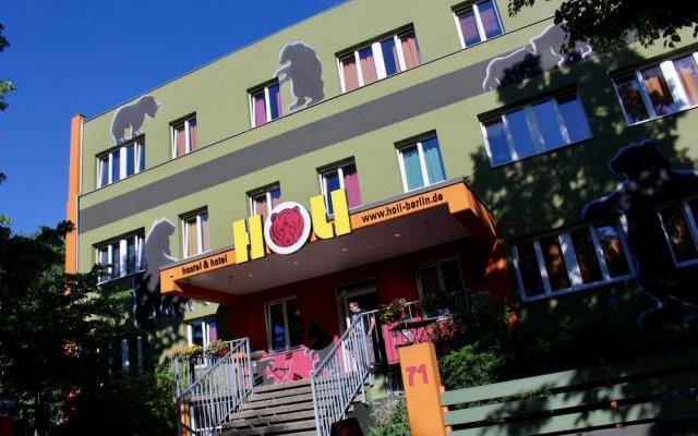 Отель HOLI-Berlin Hotel Германия, Берлин - отзывы, цены и фото номеров - забронировать отель HOLI-Berlin Hotel онлайн вид на фасад