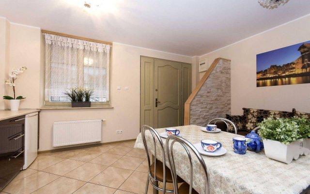 Отель Apartament White Lions Гданьск комната для гостей