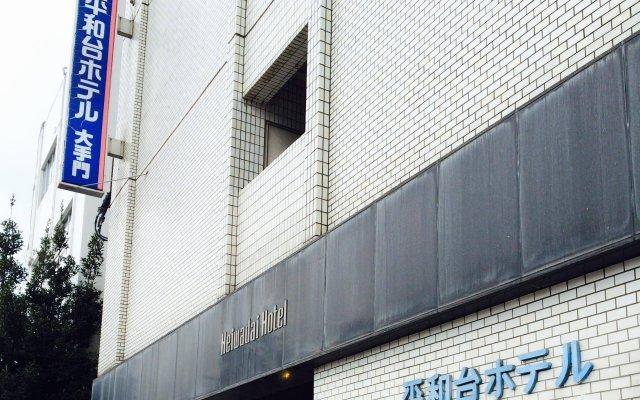 Отель Heiwadai Hotel Otemon Япония, Фукуока - отзывы, цены и фото номеров - забронировать отель Heiwadai Hotel Otemon онлайн вид на фасад